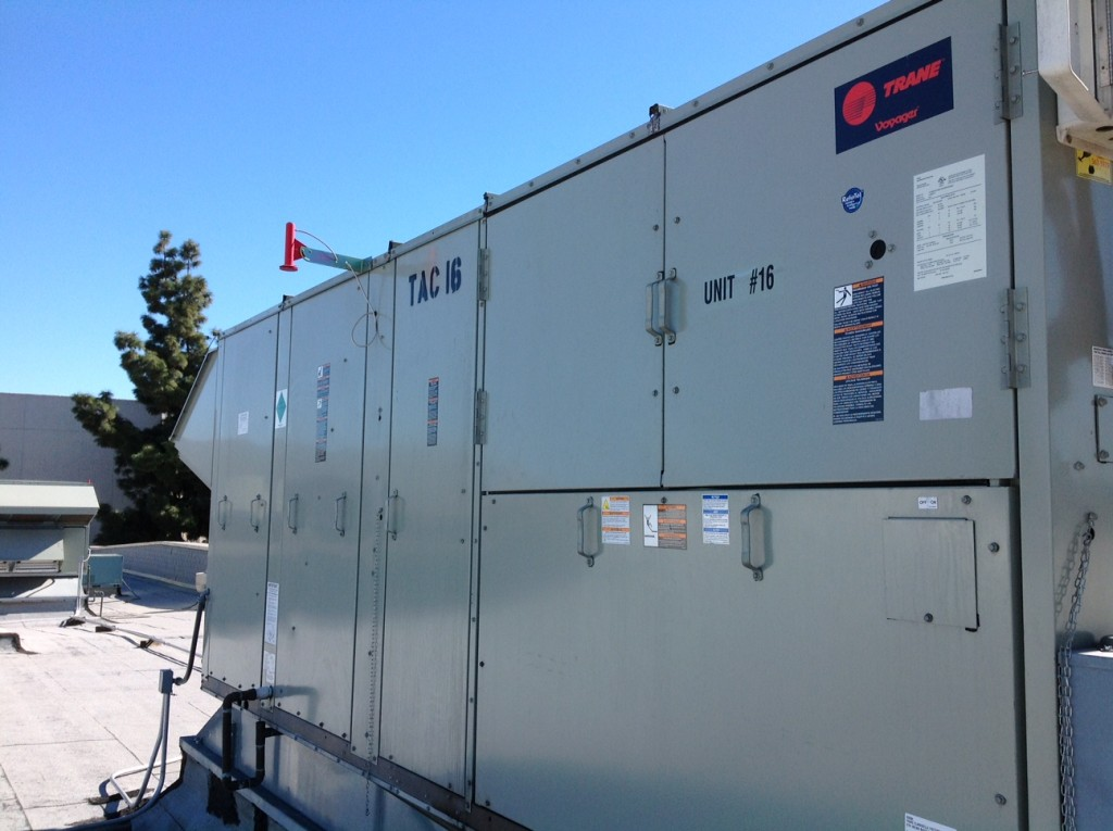 AC rooftop or AC box car unit system